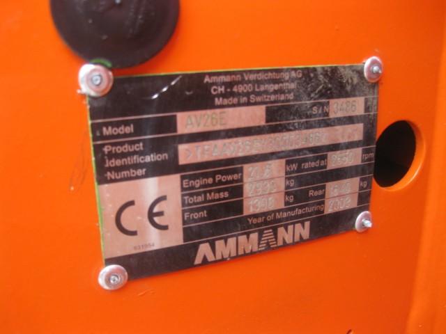 RODILLO AMMANN AV26E